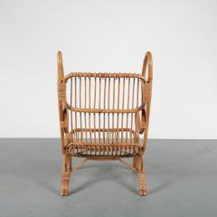 Gio Ponti Gio Ponti Rattan Easy Chair for Bonacina Italy 1950 - 1361582