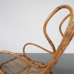 Gio Ponti Gio Ponti Rattan Easy Chair for Bonacina Italy 1950 - 1361583