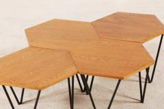 Gio Ponti Gio Ponti Set of 7 Modular Coffee Tables for I S A Italy circa 1950 - 1063223