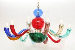 Gio Ponti Gio Ponti Signed Venini Twelve Arm Chandelier - 806848