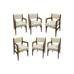 Gio Ponti Gio Ponti Six Chairs Designed for Augustus Motorboat by Cassina - 1726896