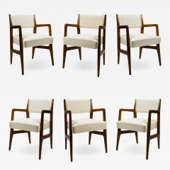 Gio Ponti Gio Ponti Six Chairs Designed for Augustus Motorboat by Cassina - 1728366