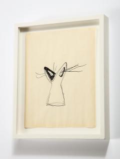 Gio Ponti Gio Ponti Sketch Disegni per Vasi Incrociatifor  - 1089737