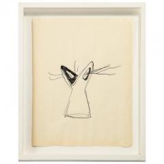 Gio Ponti Gio Ponti Sketch Disegni per Vasi Incrociatifor  - 1089739