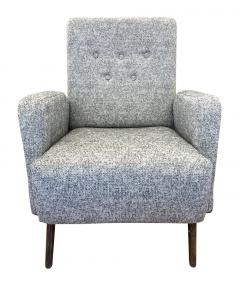 Gio Ponti Gio Ponti Style Lounge Chair Italy 1960s - 2113589