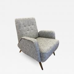 Gio Ponti Gio Ponti Style Lounge Chair Italy 1960s - 2116251