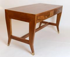 Gio Ponti Gio Ponti Walnut Desk Italy c 1950 - 1089261