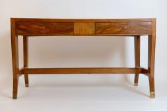 Gio Ponti Gio Ponti Walnut Desk Italy c 1950 - 1089264