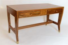 Gio Ponti Gio Ponti Walnut Desk Italy c 1950 - 1089265