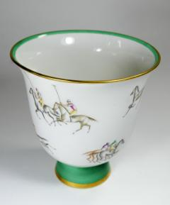 Gio Ponti Gio Ponti for Richard Ginori Vase Polo Horses - 385462