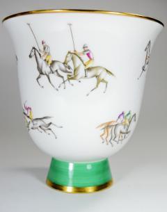 Gio Ponti Gio Ponti for Richard Ginori Vase Polo Horses - 385464