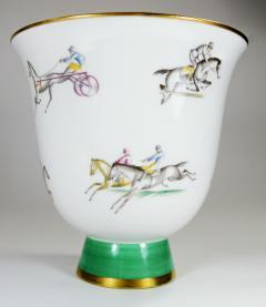 Gio Ponti Gio Ponti for Richard Ginori Vase Polo Horses - 385466