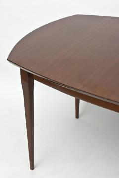 Gio Ponti Gio Ponti for Singer and Sons Walnut Extension Dining Table - 348317