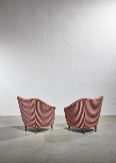 Gio Ponti Gio Ponti pair of lounge chairs Italy 1940s - 1045363