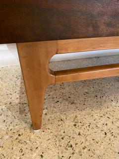 Gio Ponti Italian Modern 12 Drawer Walnut Dresser Gio Ponti - 2101922