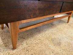 Gio Ponti Italian Modern 12 Drawer Walnut Dresser Gio Ponti - 2101924
