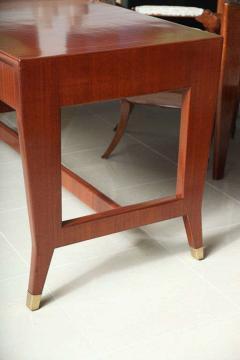 Gio Ponti Italian Modern Mahogany Desk Writing Table Gio Ponti - 396681