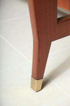 Gio Ponti Italian Modern Mahogany Desk Writing Table Gio Ponti - 396682