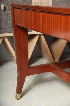 Gio Ponti Italian Modern Mahogany Desk Writing Table Gio Ponti - 396685