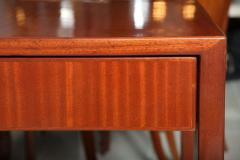 Gio Ponti Italian Modern Mahogany Desk Writing Table Gio Ponti - 396688