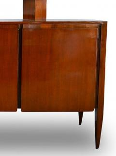 Gio Ponti Italian Modern Walnut Credenza with Display Superstructure Gio Ponti - 912022