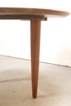 Gio Ponti Little Walnut Gueridon in the Style of Gio Ponti - 1188851