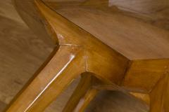 Gio Ponti Mid Century Low Circular Side Table Gio Ponti Style - 1184479