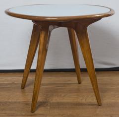 Gio Ponti Mid Century Low Circular Side Table Gio Ponti Style - 1184484