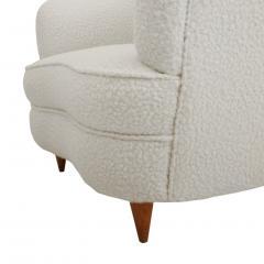 Gio Ponti Mid Century Modern Gio Ponti Pair of Italian Armchairs for Casa e Giardino - 1213880