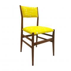 Gio Ponti Mid Century Modern Gio Ponti Set of Four Leggera Ash Wood Italian Chairs 1951 - 1044875