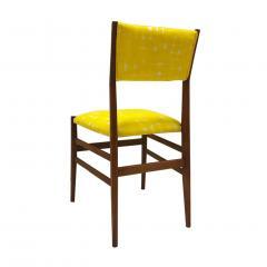 Gio Ponti Mid Century Modern Gio Ponti Set of Four Leggera Ash Wood Italian Chairs 1951 - 1044877