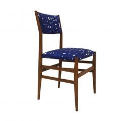 Gio Ponti Mid Century Modern Gio Ponti Set of Four Leggera Ash Wood Italian Chairs 1951 - 1044880
