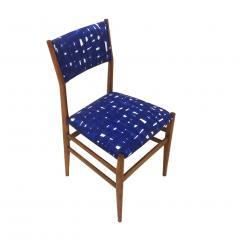 Gio Ponti Mid Century Modern Gio Ponti Set of Four Leggera Ash Wood Italian Chairs 1951 - 1044881