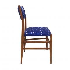 Gio Ponti Mid Century Modern Gio Ponti Set of Four Leggera Ash Wood Italian Chairs 1951 - 1044882