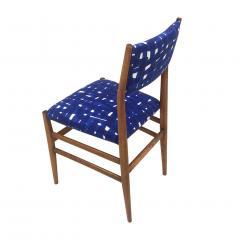 Gio Ponti Mid Century Modern Gio Ponti Set of Four Leggera Ash Wood Italian Chairs 1951 - 1044883