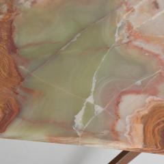 Gio Ponti Mid Century Modern Italian Coffee Table with Marble Top After Gio Ponti - 1168866