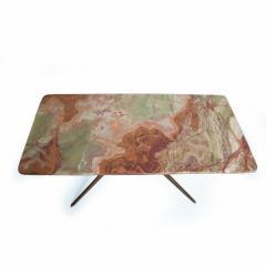 Gio Ponti Mid Century Modern Italian Coffee Table with Marble Top After Gio Ponti - 1168869