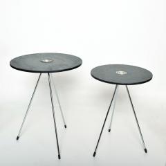 Gio Ponti Nesting Tables Mannner of Gio Ponti MEXICO 1980s Modern Black Wood - 1989929