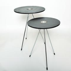 Gio Ponti Nesting Tables Mannner of Gio Ponti MEXICO 1980s Modern Black Wood - 1989930
