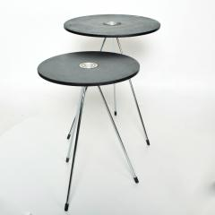 Gio Ponti Nesting Tables Mannner of Gio Ponti MEXICO 1980s Modern Black Wood - 1989931