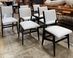 Gio Ponti Pair of 6 Dining Chairs Attributed to Gio Ponti Italy 1960 - 1642376