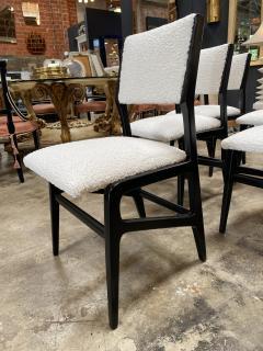Gio Ponti Pair of 6 Dining Chairs Attributed to Gio Ponti Italy 1960 - 1642380