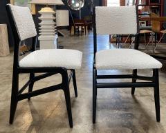 Gio Ponti Pair of 6 Dining Chairs Attributed to Gio Ponti Italy 1960 - 1642381