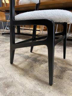 Gio Ponti Pair of 6 Dining Chairs Attributed to Gio Ponti Italy 1960 - 1642383