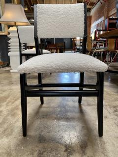 Gio Ponti Pair of 6 Dining Chairs Attributed to Gio Ponti Italy 1960 - 1642384