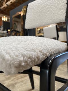 Gio Ponti Pair of 6 Dining Chairs Attributed to Gio Ponti Italy 1960 - 1642385
