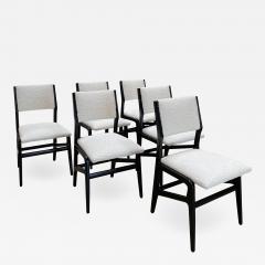 Gio Ponti Pair of 6 Dining Chairs Attributed to Gio Ponti Italy 1960 - 1645421