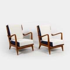 Gio Ponti Pair of Armchairs Model 516 by Gio Ponti for Cassina - 770817