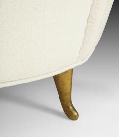 Gio Ponti Pair of Boucl Armchairs - 1698950