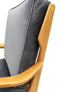 Gio Ponti Pair of Gio Ponti Armchairs Model 516 - 1156818